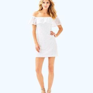 Lilly Pulitzer White Lace Dress Size XL